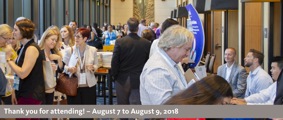 2018 People Management Conference photo of the conference exhibition hall - thank you for attending! - August 7 to August 9, 2018